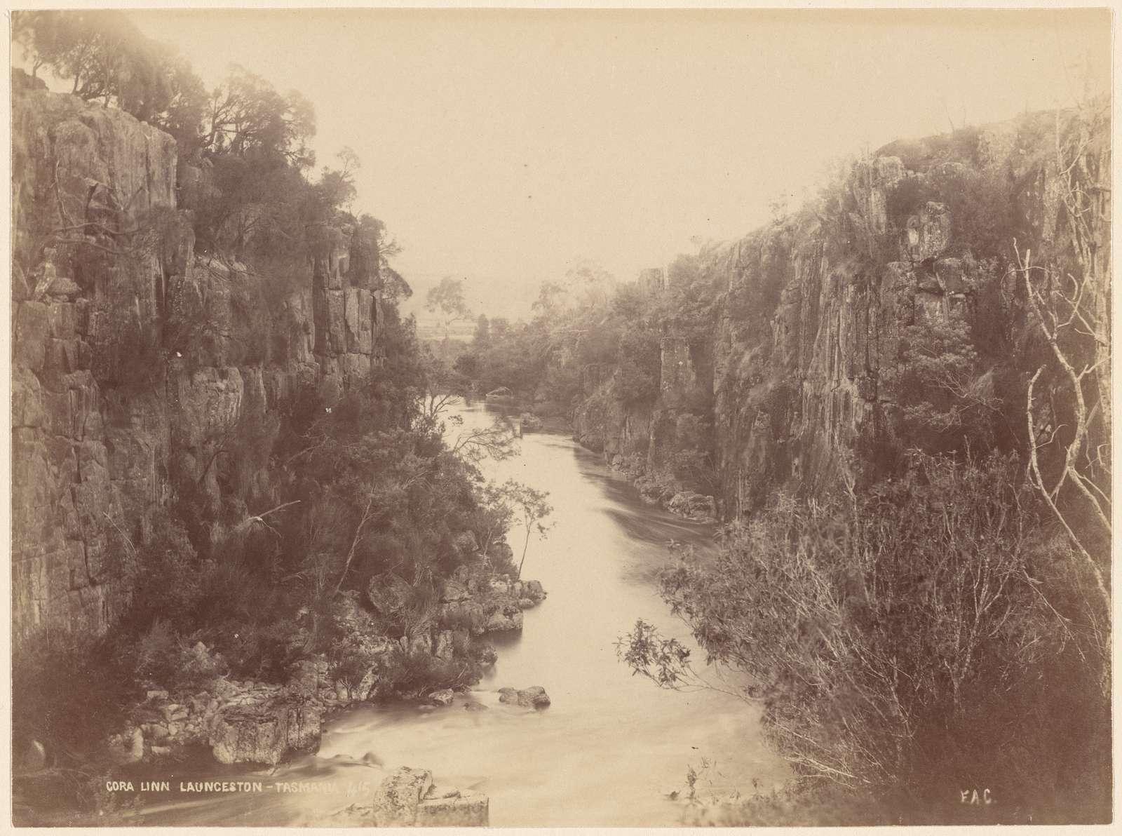 Cora Linn. Launceston, Tasmania