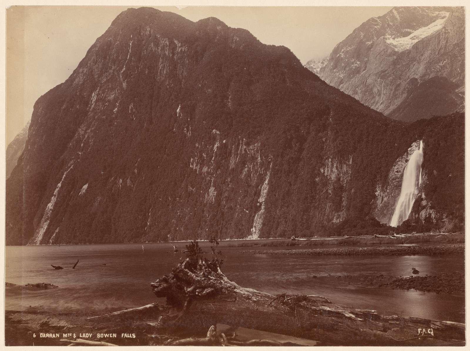 Darran Mts. & Lady Bowen Falls