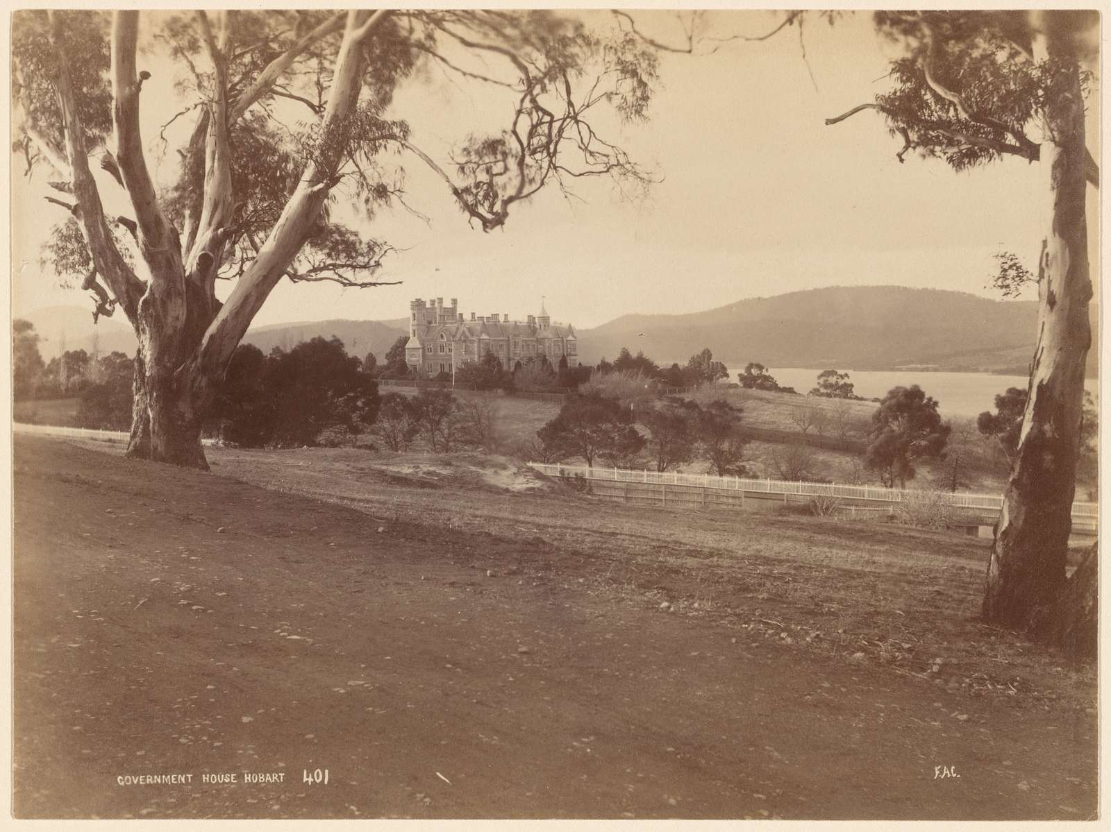 Government House. Hobart