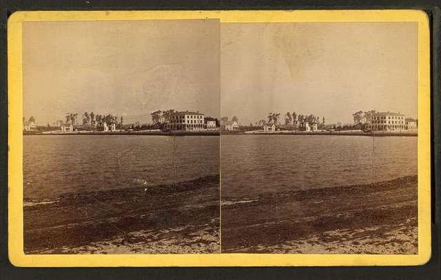 Lake Luzerne and Luzerne House, Orlando, Florida.
