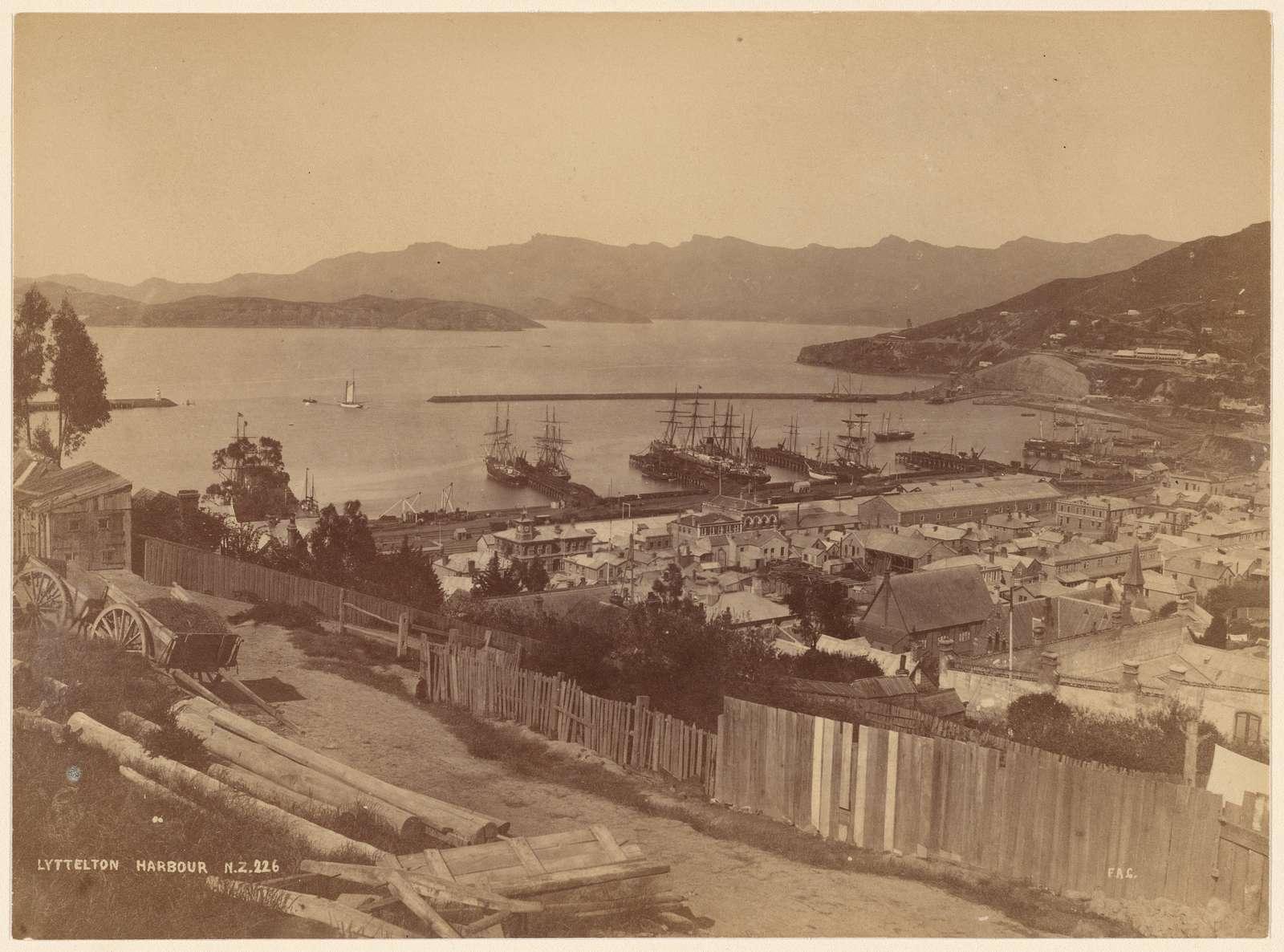 Lyttelton Harbour, N. Z.