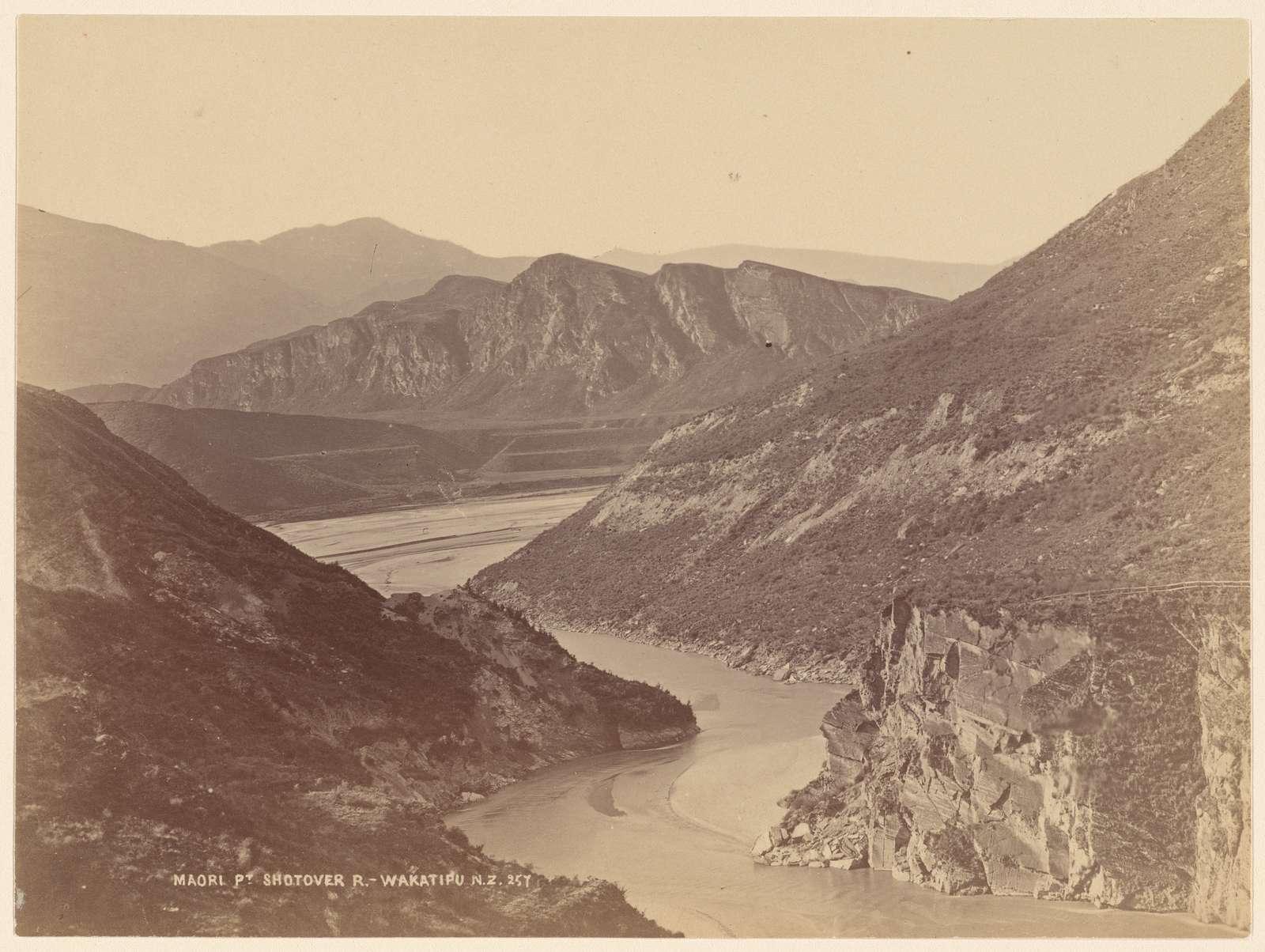 Maori Pt. Shotover R. Wakatipu, N. Z.