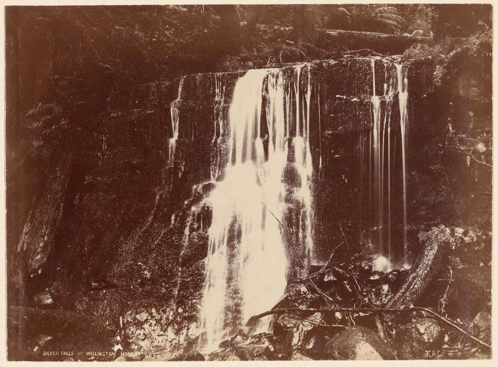 Silver Falls. Wellington, Hobart