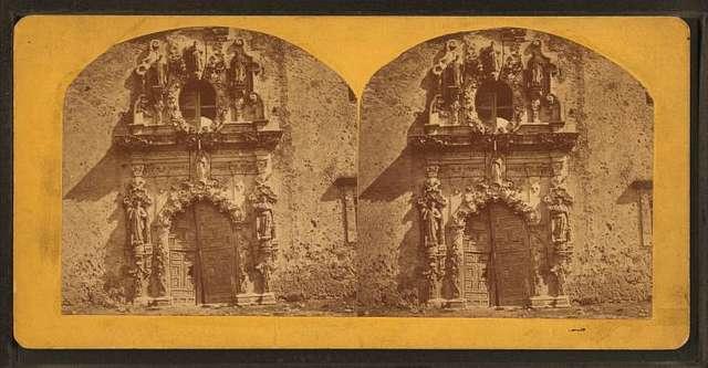 The Alamo. Mission of San Antonio.