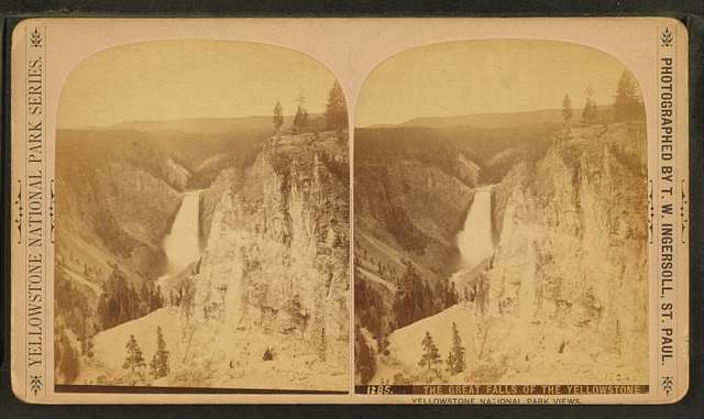 The Great Falls of the Yellowstone.