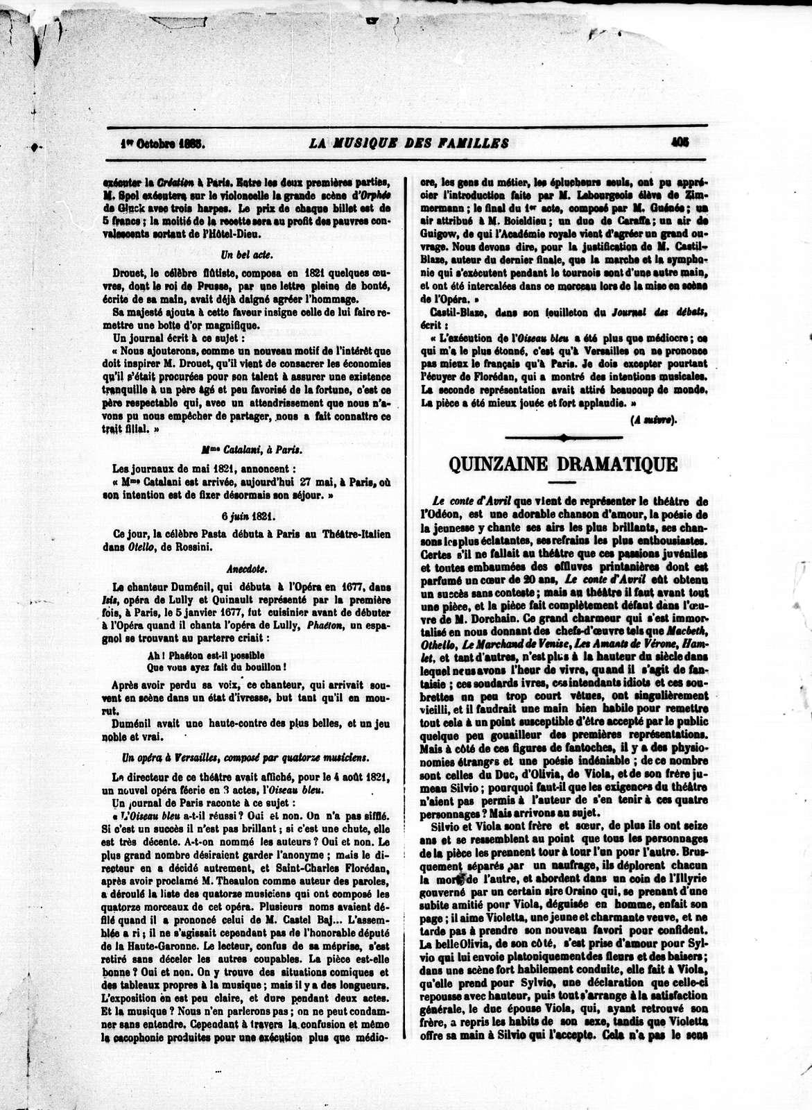La Musique populaire, Vol. 4, no. 207