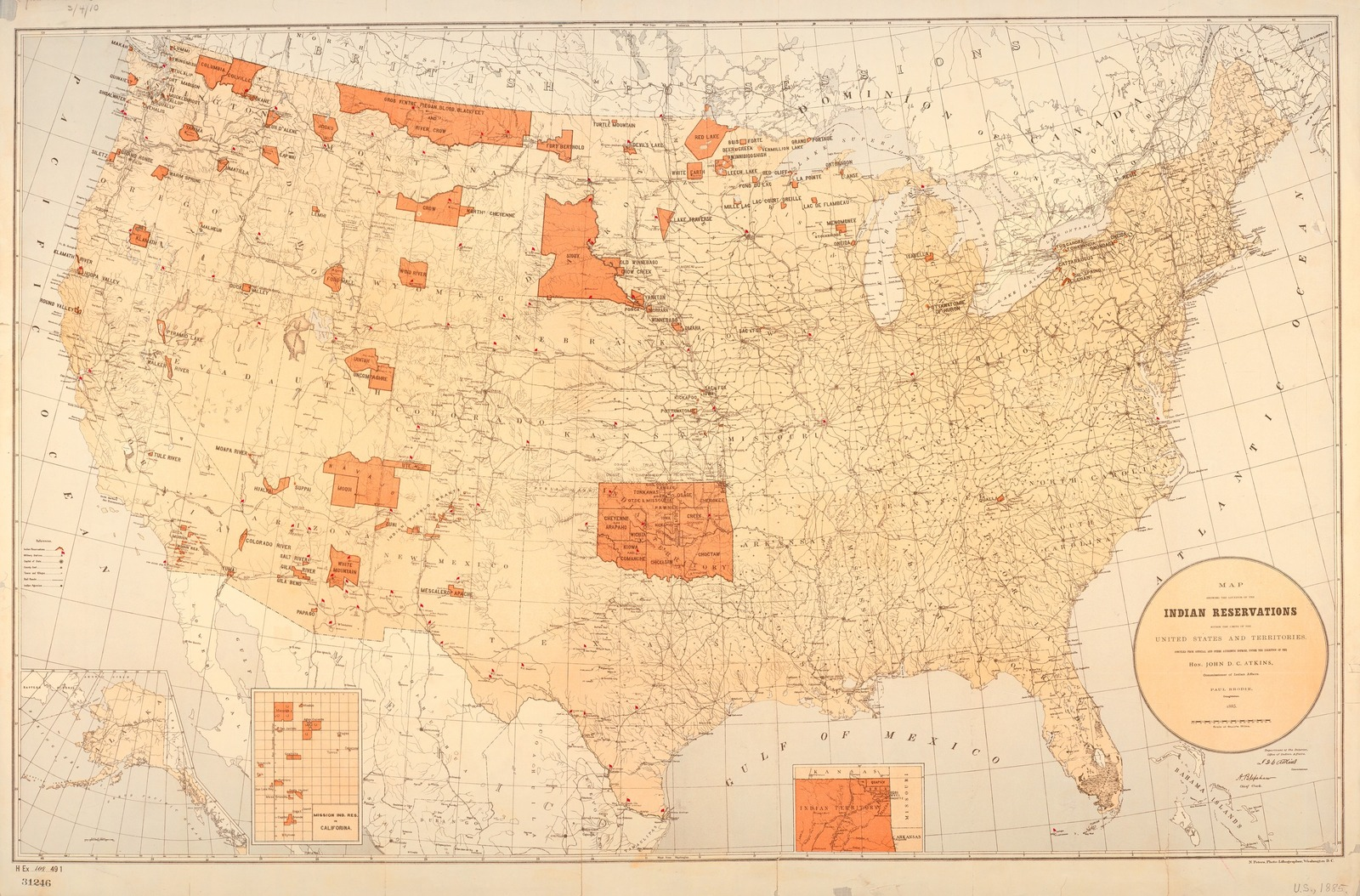 Map Of New York Indian Reservations.Map Showing The Location Of The Indian Reservations Within The
