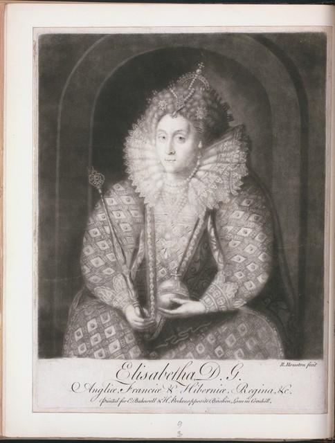 Elisabetha, D.G., Angliae, Franciae, et Hiberniae, regina etc.