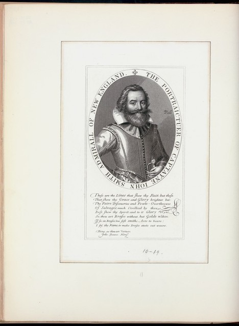 The portraictuer of Captayne Iohn Smith, admiral of New England.