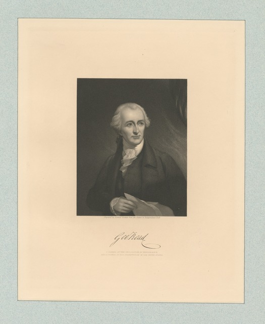 Geo. Read a signer of the Declaration of Independence, and framer of the Constitution of the United States