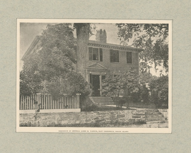 Residence of General James M. Varnum, East Greenwich, Rhode Island