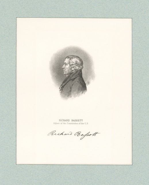 Richard Bassett signer of the Constitution of the U.S.