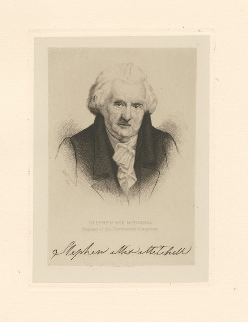 Stephen Mix Mitchell member of the Continental Congress