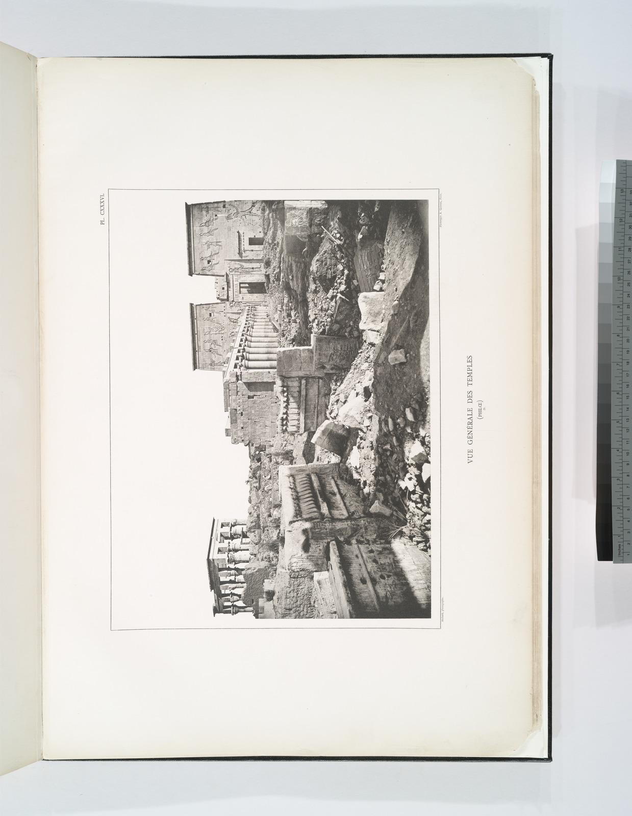 Vue générale des temples (Philæ, B).