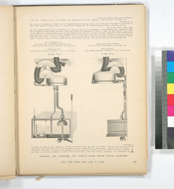 Demarest's Patent Syphon Water Closets, the 'Monarch' amd 'Warwick.'