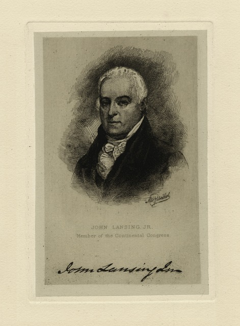 John Lansing Jr., member of the Continental Congress.