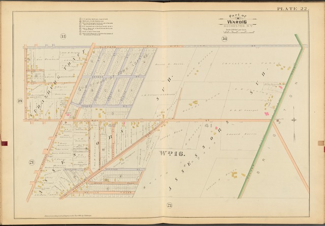 Rochester, Double Page Plate No. 22 [Map bounded by Clifford St., Culver Rd., N. Goodman St., Ulm St.]