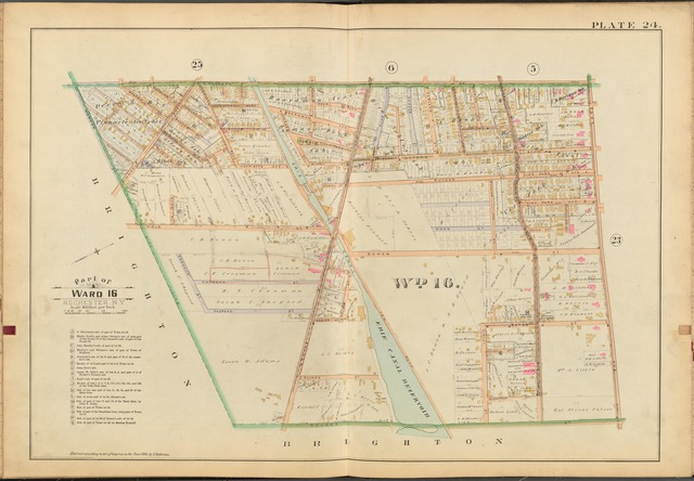 Rochester, Double Page Plate No. 24 [Map bounded by S. Goodman St., East Ave., Culver St., Warren St.]