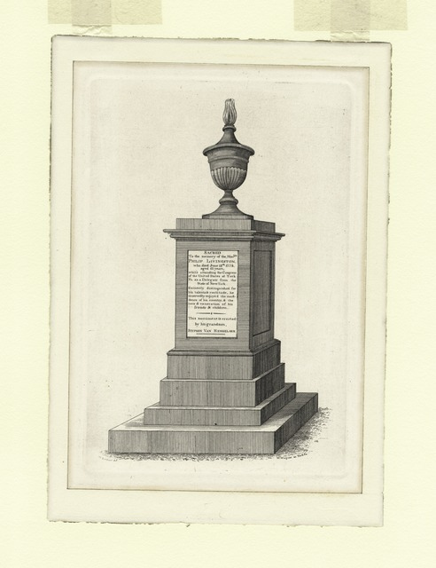 Sacred to the memory of Philip Livingston.
