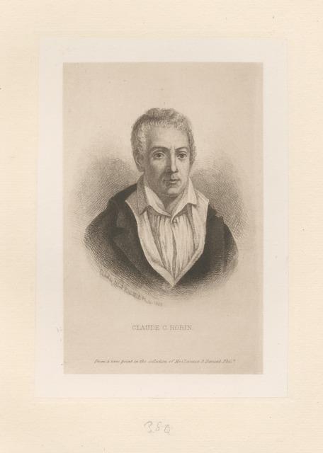 Claude G. Robin
