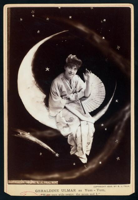 "Geraldine Ulmar as ""Yum-Yum"" in the  D'Oyly Carte Opera Company stage production The Mikado (Gilbert And Sullivan)."