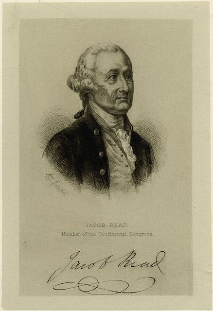 Jacob Read, member of the Continental Congress.