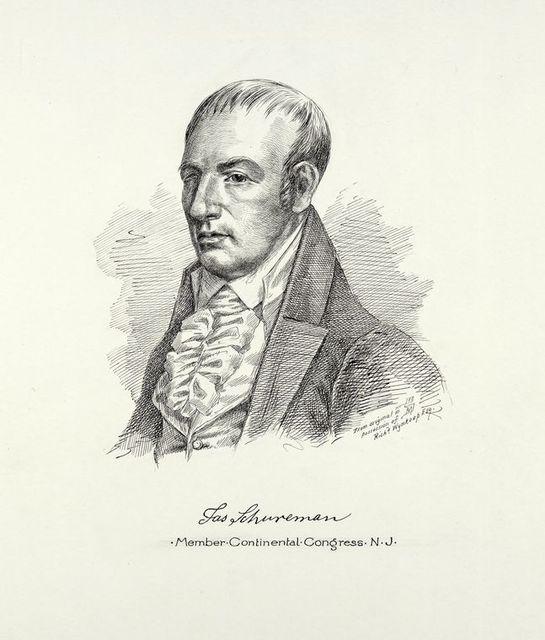 [James] Schuremen, member of the Continental Congress, N.J.