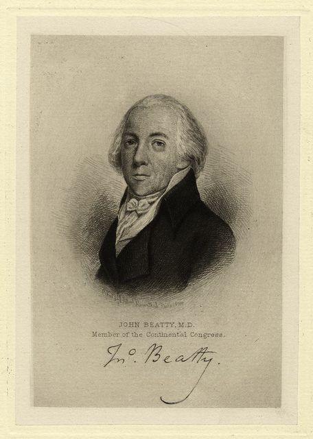 John Beatty, M.D., member of the Continental Congress.