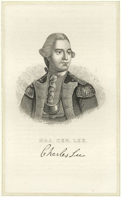 Maj. Gen. [Charles] Lee