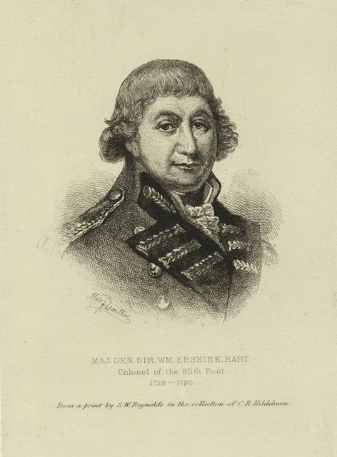 Maj. Gen. Sir Wm. Erskine Bart.