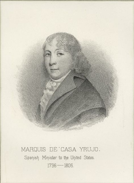 Marquis de Casa Yrujo, Spanish minister to the United States