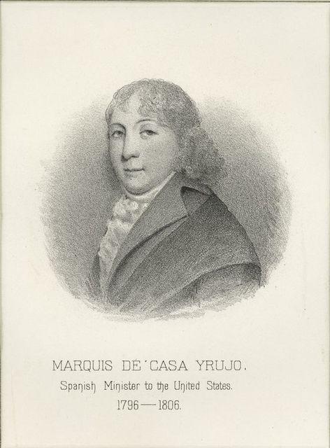 Marquis de Casa Yrujo, Spanish minister to the United States