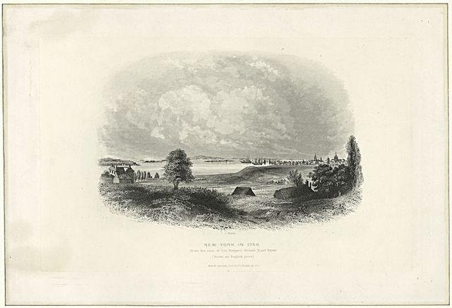 New York in 1768