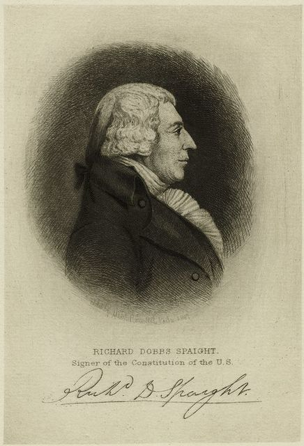 Richard Dobbs Spaight, signer of the Constitution of the U.S.