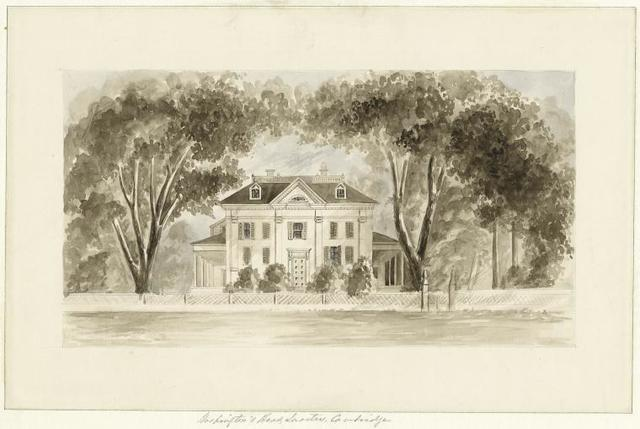 Washington's headquarters, Cambridge.