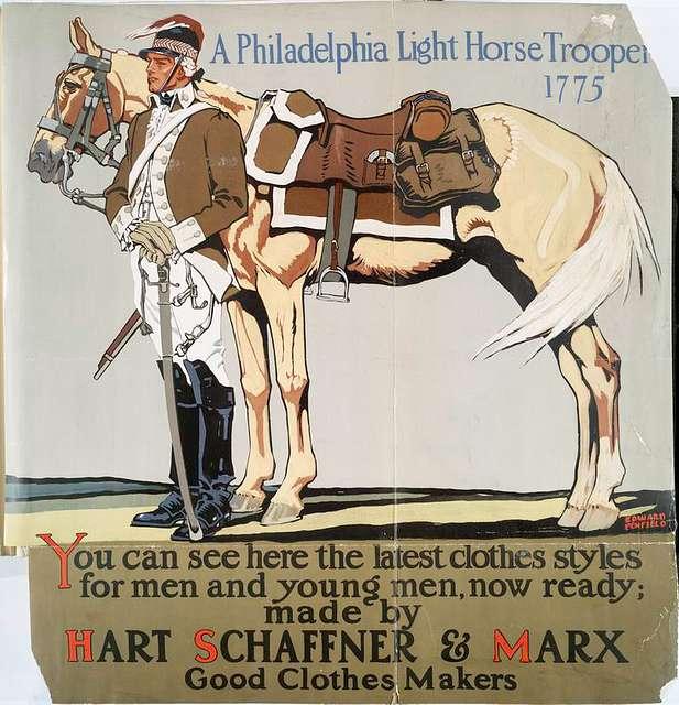 A Philadelphia light horse trooper, 1775