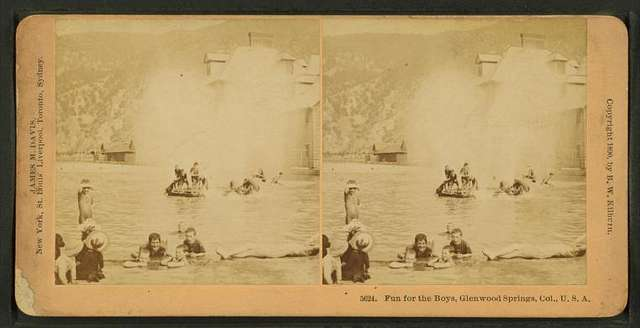 Fun for the boys, Glenwood Springs, Col., U.S.A.