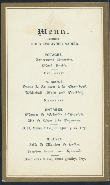 """ANNIVERSARY FESTIVAL [held by] BRITISH ORPHAN ASYLUM [at] """"WHITEHALL ROOMS, THE HOTEL METROPOLE, LONDON [ENGLAND]"""" (FOREIGN HOTEL)"""