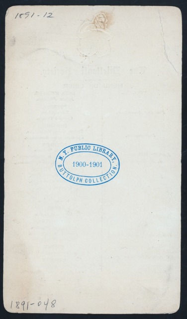 "DINNER [held by] THE DILETTANTI SOCIETY [at] ""THE WALNUT ROOMS; THE GRAND HOTEL, TRAFALGAR SQUARE, [LONDON,ENGLAND]"" (HOTEL)"