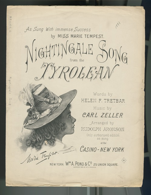 Nightingale song