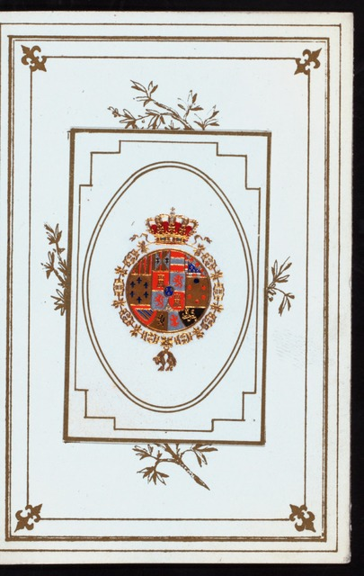 "DINNER TO THE QUEEN REGENT OF SPAIN,MARIE CHRISTINE [held by] DINER DE S.M. [at] ""MADRID,SPAIN"" ([HOTEL])"