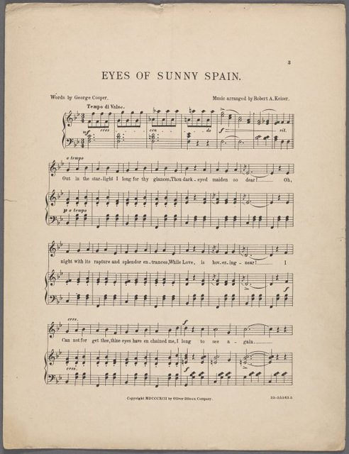 Eyes of sunny Spain