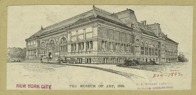 The Museum Of Art, 1893.