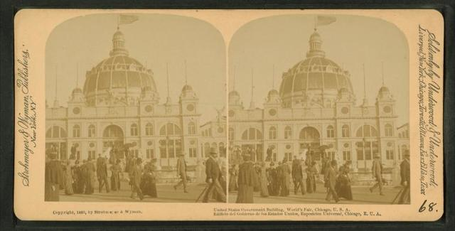 United States Government building, World's Fair, Chicago, U.S.A.