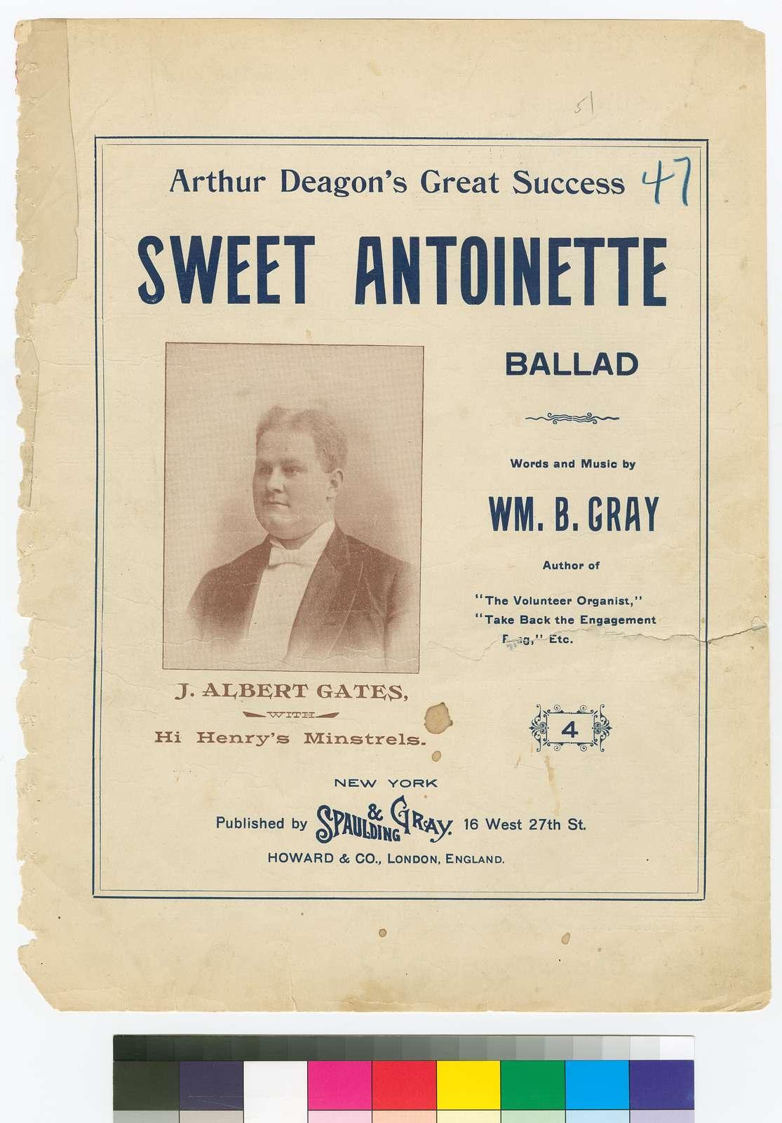 Sweet Antoinette