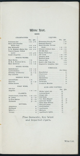 """DAILY MENU [held by] HOTEL NICOLLET CAFE' [at] """"MINNEAPOLIS,MINN;"""" (HOTEL)"""