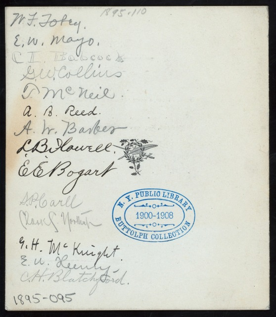 "MENU [held by] QUILL AND DAGGER [at] ""DEEMING HALL, ITHACA, NY"" (OTHER (HALL);)"