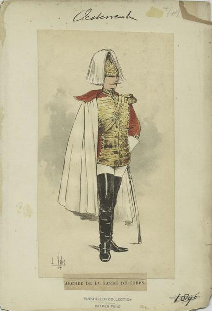 Archer de la garde du corps