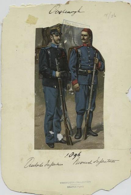 Deutsche [?] Infanterie, Bosnisch Infanterie