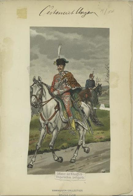 Offizier der Könglich-Ungarischen Leibgarde